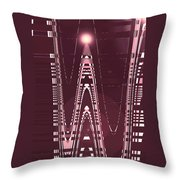 Moveonart New American Indian Architecture 3 Throw Pillow
