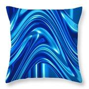 Moveonart New Art Wave 1 Throw Pillow