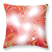 Moveonart New Beginning New Song Throw Pillow