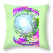 Moveonart New Possiblity Throw Pillow