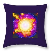 Moveonart Onward Passion Throw Pillow