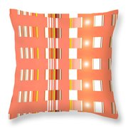 Moveonart Orange Interactive Spiritual Solutions Throw Pillow