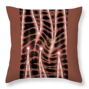 Moveonart Organic Mystery 1 Throw Pillow