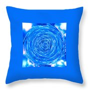 Moveonart Peace Renewal Planet Earth Throw Pillow