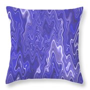 Moveonart Peaceful Interactive Visual Therapy 2 Throw Pillow