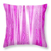 Moveonart Pink Dream Frequency Throw Pillow