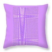 Moveonart Purple Cords Throw Pillow