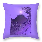 Moveonart Purple Memories Two Throw Pillow