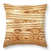 Moveonart Refining Purifying Gold Throw Pillow