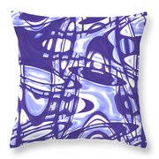 Moveonart San Francisco Window 5 Throw Pillow