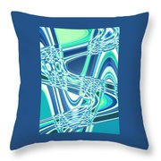 Moveonart Sharing Our Strength Throw Pillow