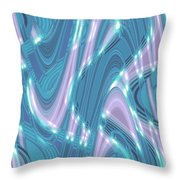 Moveonart Shifting Thought Forms 1 Throw Pillow