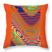 Moveonart Spontaneous Abstract 1 Throw Pillow