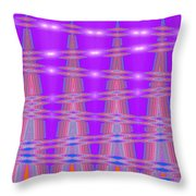 Moveonart Spontaneous Abstract 3 Throw Pillow