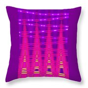 Moveonart Spontaneous Abstract 5 Throw Pillow