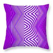 Moveonart Texture The Future 1 Throw Pillow