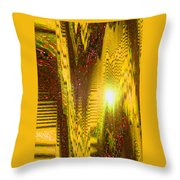 Moveonart The Light Shall Speak Throw Pillow