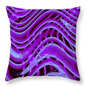 Moveonart The New New Wave 1 Throw Pillow