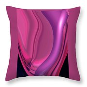 Moveonart The Red Passion Throw Pillow