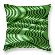 Moveonart The Wave Of The Future Is Here 2 Throw Pillow