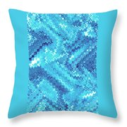 Moveonart Tranquil Cool Throw Pillow