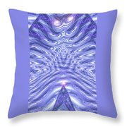 Moveonart United Cosmic Thought 1 Throw Pillow