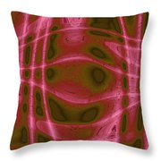 Moveonart Unknown Artistic Intelligence Throw Pillow