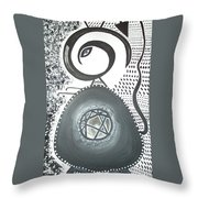 Moveonart Untitled 4 2005 Throw Pillow
