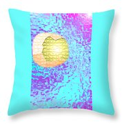 Moveonart Urban Light Worker Throw Pillow