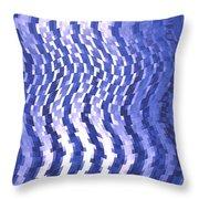 Moveonart Urban Waves 2 Throw Pillow