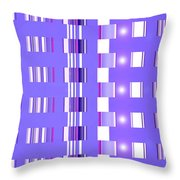 Moveonart Violet Interactive Spiritual Solutions Throw Pillow