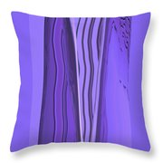 Moveonart Violet Moment 1 Throw Pillow