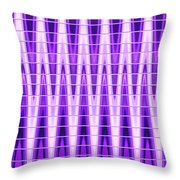 Moveonart Violet Vibes Throw Pillow
