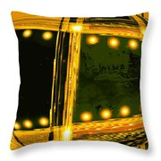 Moveonart Vision Of Space Travel 1 Throw Pillow