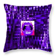 Moveonart Visualtherapytime03apr Throw Pillow