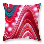 Moveonart Wave Of Enlightenment Three Throw Pillow