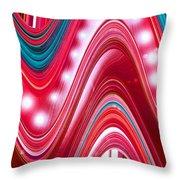 Moveonart Wave Of Enlightenment Three Throw Pillow