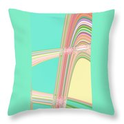 Moveonart Wave Over Me With Calmness Throw Pillow