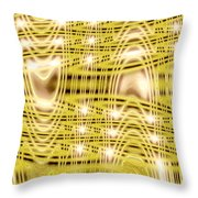 Moveonart Waves Of Blessings And Light 1 Throw Pillow