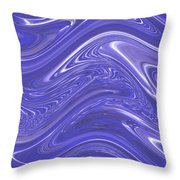Moveonart Waves Of Blue For You 1 Throw Pillow