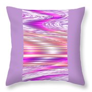 Moveonart Waves Of Enduring Strength Throw Pillow