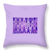 Moveonart Waves Of New Life Throw Pillow