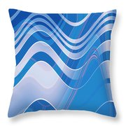 Moveonart Waves Of Redemption 1 Throw Pillow