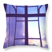 Moveonart Window Watching Series 5 Throw Pillow