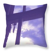 Moveonart Window Watching Series 6 Throw Pillow