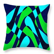 Moveonart Zen Waves Series 2 Throw Pillow