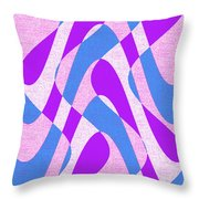 Moveonart Zen Waves Series 3 Throw Pillow