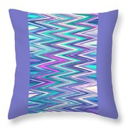 Moveonart Zig Zag Therapy One Throw Pillow
