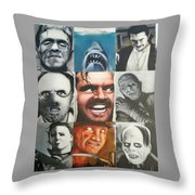 Movie Villians Throw Pillow