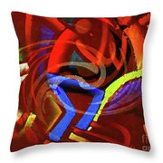 Movin Throw Pillow